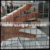 Food Grade 304 stainless steel crimped wire mesh BBQ fish Grill netting
