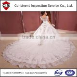 high quality wedding dresses,formal dress,evening dress,inspection services,quality control,factory inspection,loading check