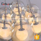christmas decoration Modern glass ball pendant lamp, Hand Blown glass pendant light for chandelier