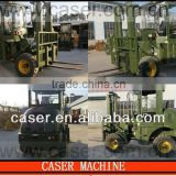 4WD Forklift 2.8 tons Rough Terrain Forklift mast CPCY28 All Terrain Forklift 4x4 Forklift