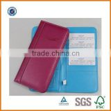 wholesale custom pu cover passport holder,women passport holder,pu leather passport holder