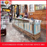 Luxury cash counter display for retail