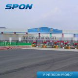 toll station/gate express highway IP intercom &PA system solution