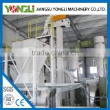 high rank production rice husk pellet mill processing line with engineers available to service machinery overseas