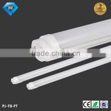 aluminum and PC 4ft 1.2m sex led t8 tube light for supermarket, offic, school, bus station