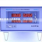 PM9811 digital harmonic power meter to measure voltage, current, power, power factor and THD data with high accuracy