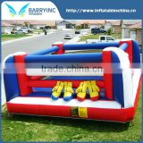 cheap small wrestling inflatable boxing ring for kids