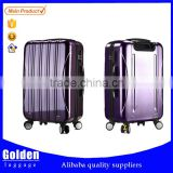travel luggage bag trolley luggage alibaba Baigou factories abs+pc business trolley luggage