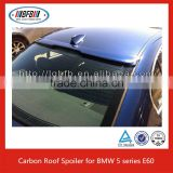 For BMW 5 Series Rear Window Side Spoiler E60 Carbon Window Roof Spoiler