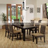 Water Hyacinth Dining Set - Dining chair - Rattan Chair - Wicker Rattan Dining Table Set