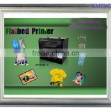 uv digital inkjet printer with a3 size, use for pvd, phone case, t-shirt, metal