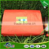 waterproof orange blue PE or PP tarps fabric sheet roll