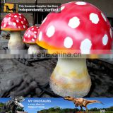 MY Dino-C064 Custom-made animatronic resin mushroom sculptures for sale