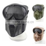 Fly Mesh Steel Goggle Eye Protective Full face Masks Airsoft Paintball Tactical Safety Mask