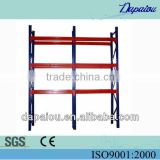 wholesale heavy duty adjustable galvanized drive-in pallet metal rack/sliding metal rack for storage