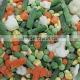 best frozen mixed vegetables(sweet corn, green pea, carrot, cauliflower) from china