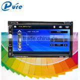 Auto Stereo 6.95 inch Car DVD Player with Bluetooth Phonebook USB SD Car Multimedia System