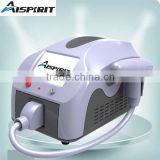 Zero Side Effect Clinic Use ND YAG Xenon Lamp Salon Beauty New Black Tip Laser Color Tattoo Removal