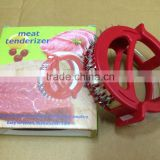 Stainless Steel Steak Meat Round Tenderizer Pounder As Seen On TV Microplane Meat Tenderizer