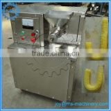 newest type professional stainless steel puffed corn snacks machine/corn puff snack extruder