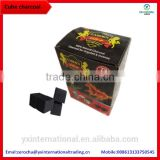 coconut shell charcoal cubes 2.5*2.5*2.5cm malaysia charcoal