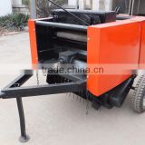 farm use round tractor cornstalk hay mobile plant stalk baler