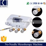 Electroporation needle free mesotherapy machine for skin whitening injection price.