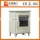 Cast Iron and Enamel Surface Wood Burning Stove Fireplace professional supplier from China