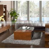 Casual Solid Wood Sofa Set,Wooden Frame Morden Southeast Asian Living Room Furniture Set,Simple Wooden Sitting Room Furniture