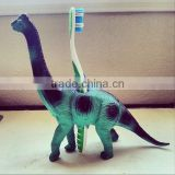 Custom plastic toys with toothbrush holder,Make plastic animal toys,Toothbrush holder plastic toys for kids