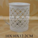 promotional gifts ceramic electric oil burner with lamp for wholesale