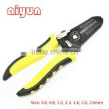 0.6-2.6mm crimping plier multi wire stripper crimping tool terminals crimper wire cutter wire loop