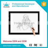 Factory price! HUION a4 light pad led usb power charge tracing board for Artists,Drawing,Animation