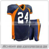sport custom sublimated soccer wear game printing America football shirts suits training football jerseys uniforms