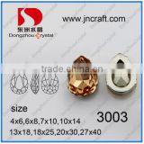dongzhou metal claw sew buttons,sew on strass for wedding dress