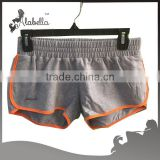 Running shorts with French terry fabric for sports wear Stock garments