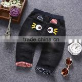 Fashion baby girls boys cute baby long trouser kids soft jeans pants