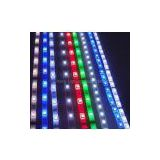 12V Waterproof UV Flat Deccorative 6mm Wide Remote Control RGB Chasing SMD LED Strip 5050 Light