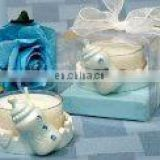 resin baby bottle tealight holder Favors Baby birth party return gifts