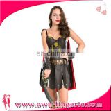 Female Pirate Captain Costume Halloween Fancy Dress Uniforms Cosplay