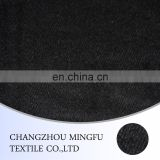 twill weave woolen fabric, 10s black colour twill wool fabric, for garment