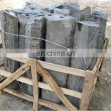Natural basalt stone column for outdoor decorative