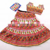 Rabari Style Kachchi Work Chaniya Choli- Traditional Garba Chaniya Choli- Navratri special chaniya choli