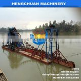 Chinese factory big capacity bucket chain gold bucket dredger machine