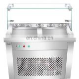 Easy Operation Factory Directly Supply Fry Ice Make Machine ice frying machine, yogurt, ice cream making machine