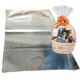 Oversized Clear Cellophane Bag Transparent Opp Plastic Basket Gift Packing