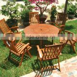 BISTRO SET - HOLYWOOD STYLE - wooden furniture - folding chair - wooden outdoor furniture