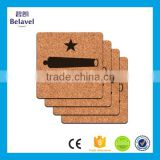 High quality eco-friendly custom printing square cork coaster                                                                                                         Supplier's Choice