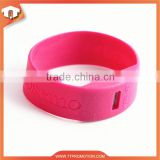 New! Manufacture cheap silicone wristband watch