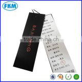 Hand tag paper
